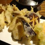 つかさ - 2012年10月 秋野菜の天ぷら【600円】