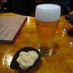 ハヌマン - 生ビールとお通し