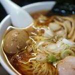 一条流がんこラーメン総本家 - スープと味玉子