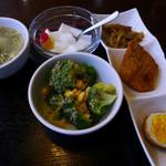 壱番厨房 - ランチのお料理付属周辺物