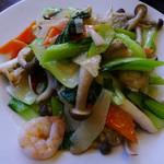 壱番厨房 - 海鮮炒め(ランチ)