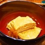 すっぽん鍋 鱧料理 三栄 - 娘用 出汁巻き玉子