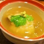 すっぽん鍋 鱧料理 三栄 - 冬三昧コース(かぶら蒸し)