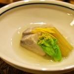 すっぽん鍋 鱧料理 三栄 - 冬三昧コース(海老芋焚合せ)