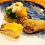 すっぽん鍋 鱧料理 三栄 - 冬三昧コース(前菜)
