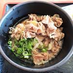 香川屋本店 - 肉ぶっかけ冷