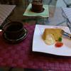 ルーラル・カフェ - 料理写真:コーヒーとシフォンケーキ