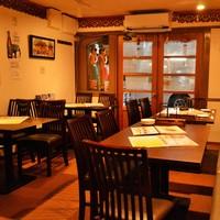 ◆気軽に楽しめる1Fテーブル席