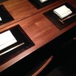 個室で、コース料理 1人 19000円(税・サービス料抜)のスタートです