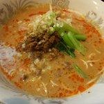 白楽天 - 坦々麺:ランチ時はご飯付きで680円