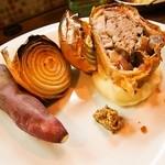 大西亭 - フランス バスク キントア豚のパイ包み