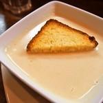 大西亭 - 前菜盛り合わせ(さつまいものスープ)