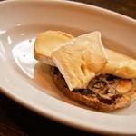 大西亭 - 料理写真:アミューズ(チーズ)