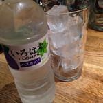 燻製と地ビール 和知 - 北海道限定いろはす ハスカップ味★