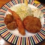 洋食 GOTOO - ミックスフライ