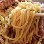雷 - ストレート太麺(小林製麺)