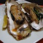 鉄板焼 AC 広尾 - 焼き牡蠣