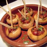 バル・イスパニヤ - マッシュルームの鉄板焼き