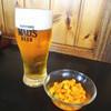 ハングリー - 料理写真:メキシカンサラダと生ビール