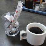 楽亭 - サービスコーヒー