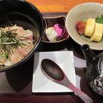 咲椀 - 鯛自家製胡麻だれ出汁茶漬け890円(税別)