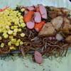 あらい - 料理写真:大盛りに全部のせ(600円)