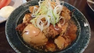 串カツ さくッ咲 - さくッ咲名物 牛筋豆腐煮込み380円