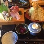 磯人 - アジざんまい定食