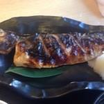 磯人 - 定食 トロ塩サバ