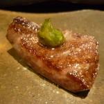 焼肉マル - ☆タンステーキは刻みわさびで☆