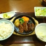 しおや  NEOPASA駿河湾沼津サービスエリア店 - ハラミステーキ定食