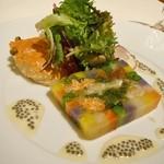 33311530 - Terrine de Crabe et Légumes d'hiver.