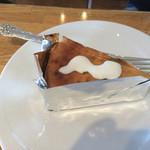 クッチーナ - アップルのチーズケーキ。