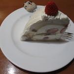 不二家 - イタリアンショートケーキ ¥530-