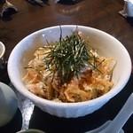蕎麦の三心 - 桜えびのおろしそば