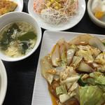 阿里山 - 回鍋肉ランチ