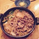 33318193 - すき鍋 肉倍盛り                       2140円