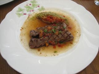 トロティネ - 牛肉のパヴェ