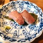 雪月花 - 近江牛赤身炙りにぎり寿司