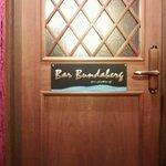 バー バンダバーグ - 店の入り口