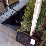 カタネカフェ - 外観(この下にあります)