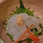 居酒屋 よっちゃん - 白海老の刺身