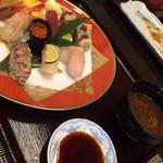 sute-kihausuminami - 松風閣のお寿司をお願いして持ってきてもらいました(-^〇^-)♪