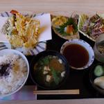 友膳 - 天ぷら定食(ランチ)