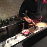 本みやけ - 厨房