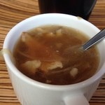 ハニトーカフェ  秋葉原店 - 玉ねぎの甘みとベーコンが美味しい