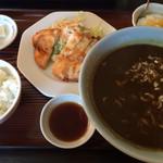 葵飯店 - カレーラーメン定食