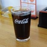 豊源 - ドリンクバーのコーラ