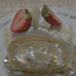 スイーツ・タケムラ - 柚子のロールケーキ
