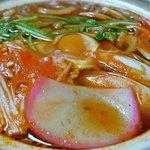 竹千庵 - 料理写真:辛口鍋焼きうどん